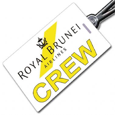 Royal Brunei Crew Tag